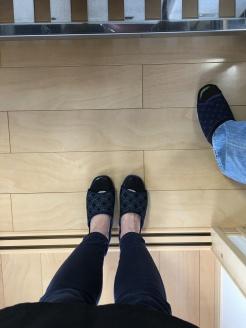 Inside slippers