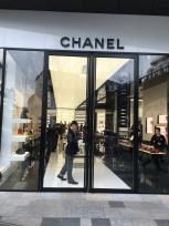 Chanel entrance