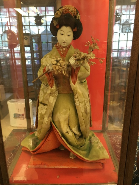 Beautiful Geisha doll