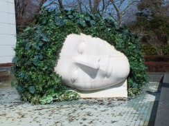 """""""Weeping Woman"""" Francoise Xavier and Claude Lalanne"""