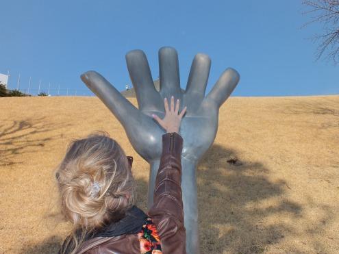 """""""Big Hand"""" Rainer Kriester"""
