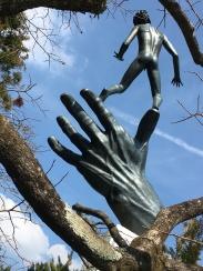 """Hand of God"" Carl Milles"