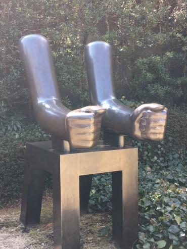 """""""Both Arms"""" Kenneth Armitage"""