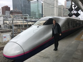 Our Shinkansen Train ride